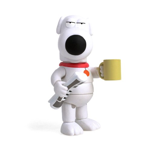 Fox Animation Family Guy Brian Griffin Action Vinyl Figure