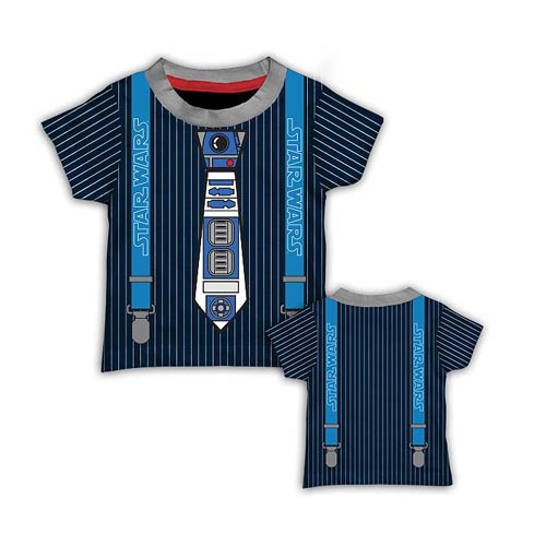 Star Wars R2-D2 Tie Toddler Costume T-Shirt