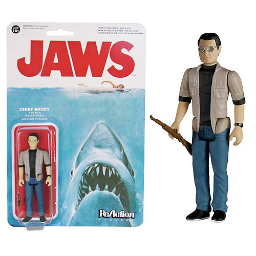 Jaws Martin Brody ReAction 3 3/4-Inch Retro Action Figure