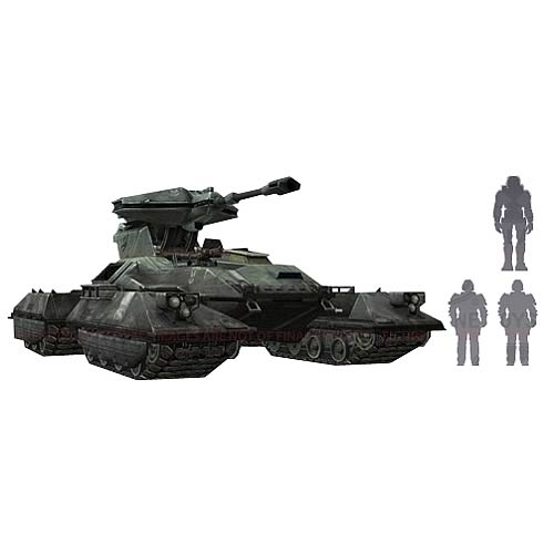 Halo Micro Ops Series 2 UNSC Scorpion Tank Mini-Figure Pack