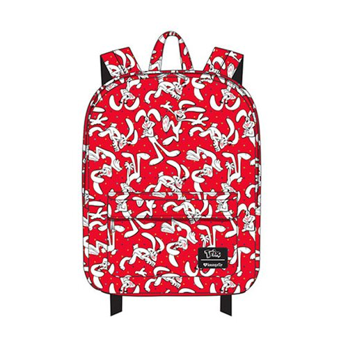 Trix Rabbit Print Backpack