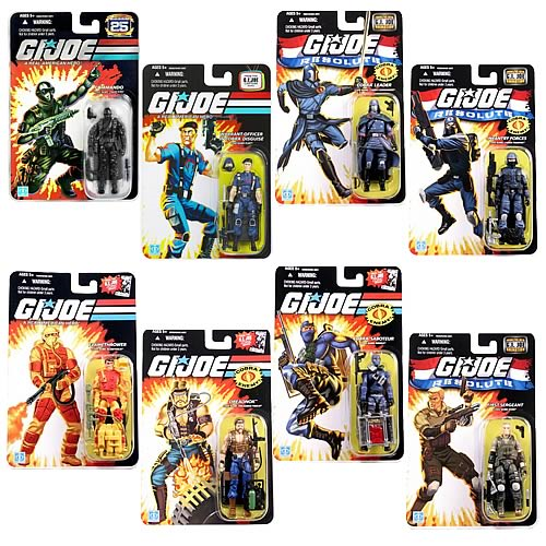 G.I. Joe 25th Anniversary Action Figures Wave 13