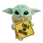 Star Wars The Mandalorian The Child On Board Plush Sign