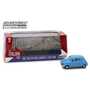 The Italian Job (1969) - 1967 Austin Mini Cooper S 1275 MKI Blue 1:43 Scale Die-Cast Metal Vehicle