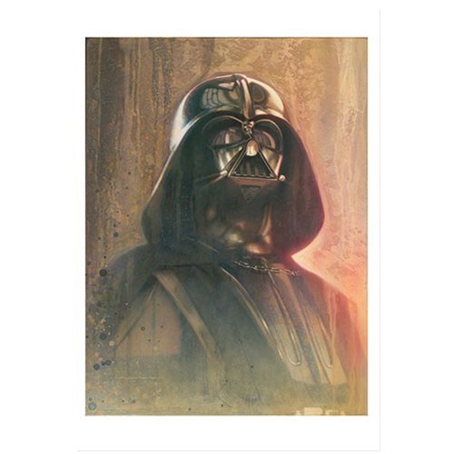 Star Wars Timeless Series Darth Vader by Jerry Vanderstelt Paper Giclee Art Print