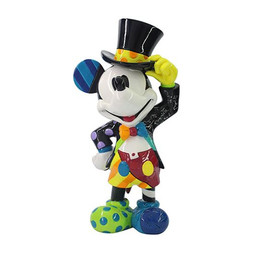 Disney Mickey Mouse Top Hat Statue by Romero Britto