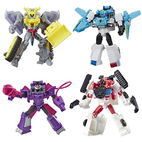Transformers Cyberverse Spark Armor Battle Wave 2 Set