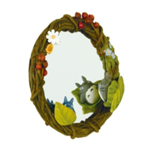 My Neighbor Totoro Hide-and-Seek Wreath Mirror