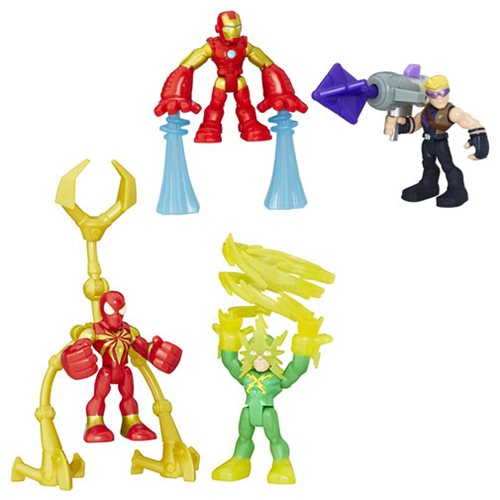 Marvel Super Hero Adventures Power Up 2-Packs Wave 1 Set