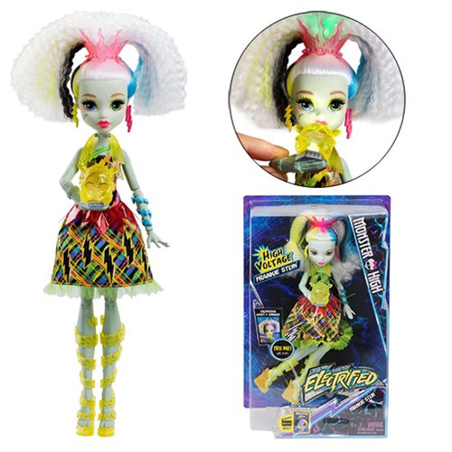 Monster High Electrified High Voltage Frankie Doll