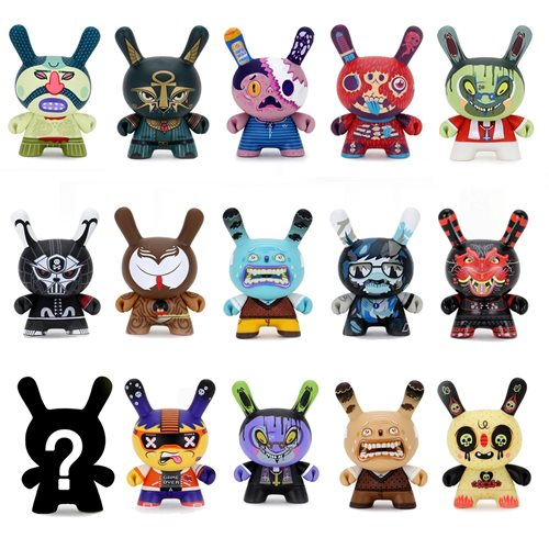 Exquisite Corpse Dunny Mini-Figure Random 4-Pack
