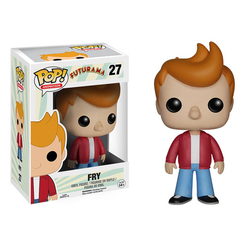 Futurama Fry Pop! Vinyl Figure