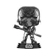 Star Wars: The Rise of Skywalker Hematite Chrome Knights of Ren Club Pop! Vinyl Figure, Not Mint