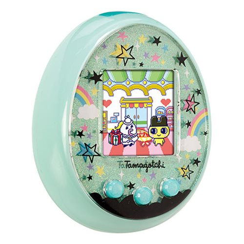 Tamagotchi On Marchen Turquoise Electronic Game