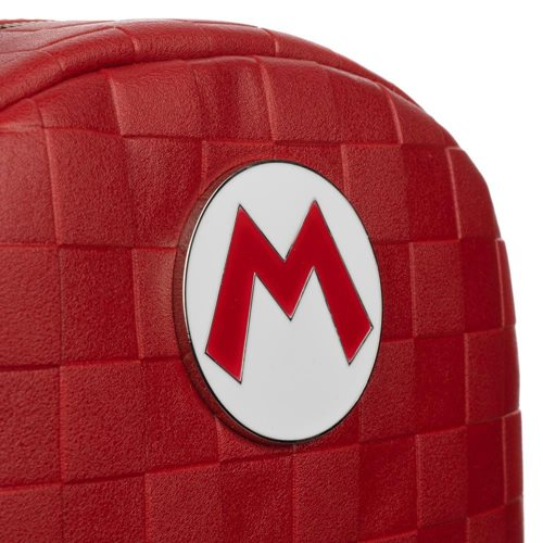 Super Mario Red Checkered Mini Backpack