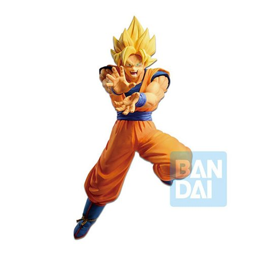 Dragon Ball FighterZ The Android Battle Super Saiyan Son Goku Statue