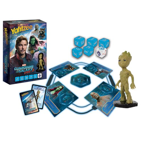 Guardian of the Galaxy Vol. 2 Battle Yahtzee