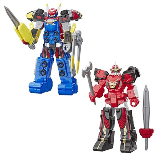 Power Rangers Megazord Action Figures Wave 1 Set