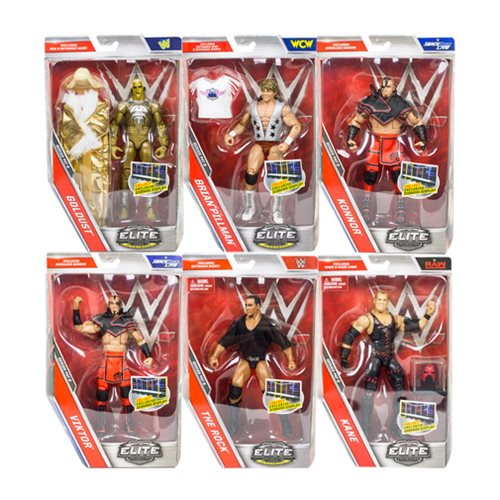 WWE Elite Collection Series 47 Rev. 1 Action Figure Case