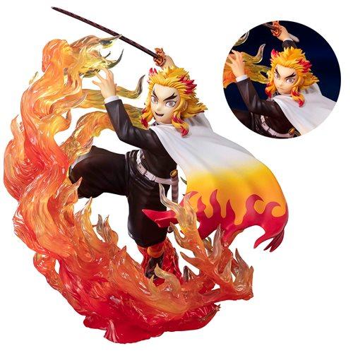 Demon Slayer Kyojuro Rengoku Flame Breathing FiguartsZERO