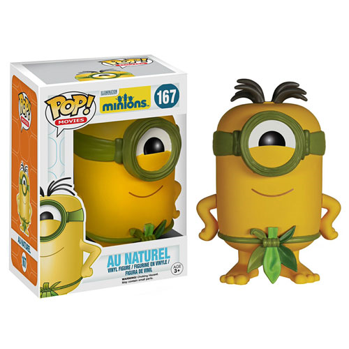 Minions Movie Au Naturel Pop! Vinyl Figure, Not Mint