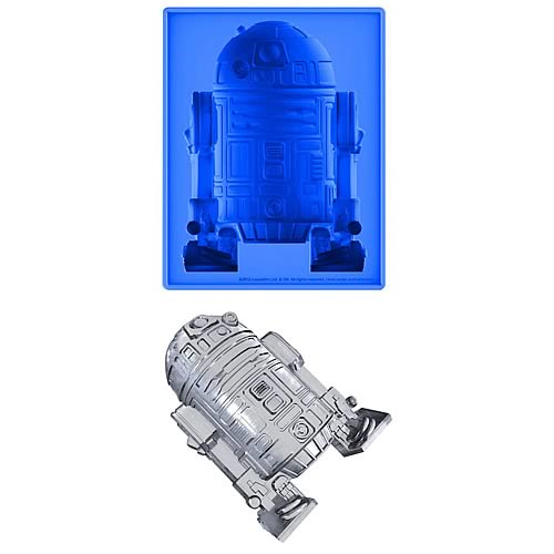 Star Wars R2-D2 Deluxe Size Silicone Ice Cube Tray