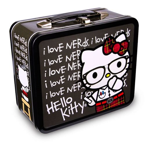 4495def8eed0 Hello Kitty Nerds Chalkboard Tin Tote - Entertainment Earth