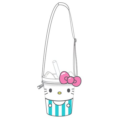 adb392568ec0 Hello Sanrio Hello Kitty Soda Crossbody Purse - Entertainment Earth