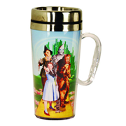 The Wizard of Oz Group Insulated Travel Mug with Handle