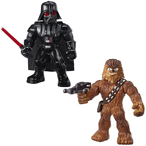 Star Wars Galactic Heroes Mega Mighties Action Figures Set