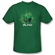 Green Lantern Movie Ring Bling T-Shirt