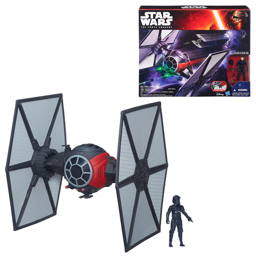 Star Wars: The Force Awakens Class II Deluxe First Order TIE Fighter Vehicle