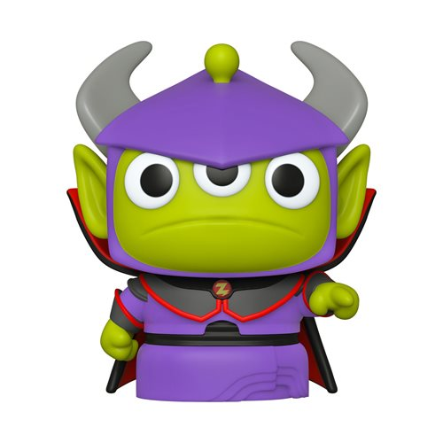 Pixar 25th Anniversary Alien Remix Zurg Pop! Vinyl Figure