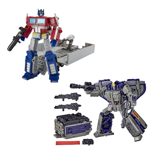 Transformers Generations War for Cybertron Earthrise Leader Wave 1 Case