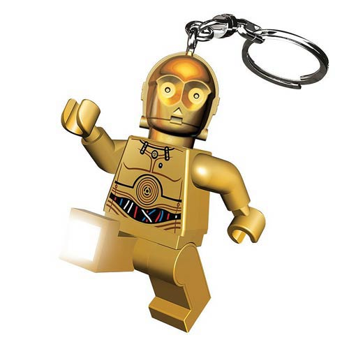 LEGO Star Wars C-3PO Minifigure Flashlight
