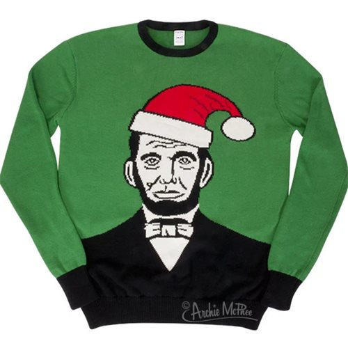Abraham Lincoln XL Sweater