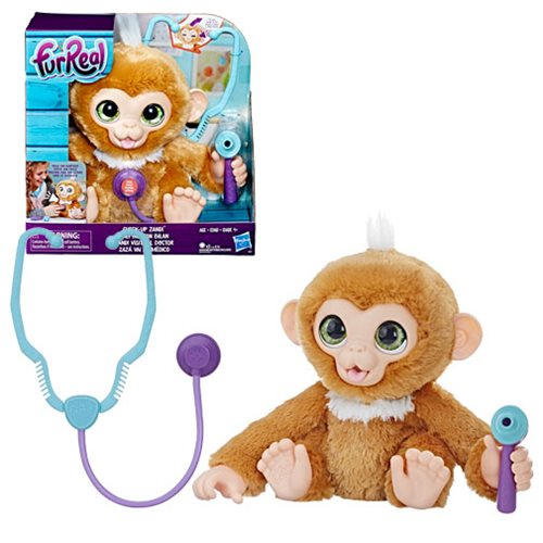 FurReal Check-up Zandi Plush Monkey