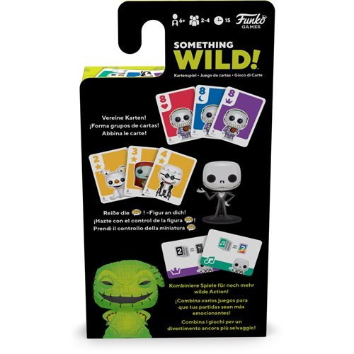 Nightmare Before Christmas Something Wild Pop! Card Game - Deutsch / Espanol / Italiano Edition