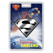 Superman Logo Chrome Injection-Molded Emblem