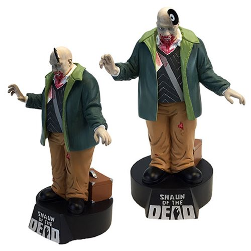 Shaun of the Dead Vinyl Zombie Premium Motion Statue