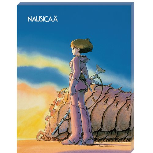 Nausicaa of the Valley of the Wind Ohmu and Nausicaa Artboard Canvas Style 366-Piece Jigsaw Puzzle
