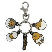 Gudetama In Eggshells Enamel Multi-Metal Key Chain
