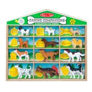 Canine Dog Companions Playset