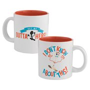Toy Story 4 Forky Outta Here 20 oz. Ceramic Mug
