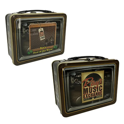 Blues Brothers Ray's Music Exchange Tin Tote