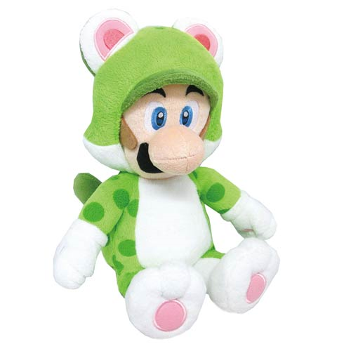 Super Mario Bros. Cat Luigi 14-Inch Plush