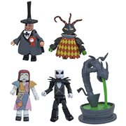 Nightmare Before Christmas Series Town Hall Fountain Deluxe Minimates Box Set