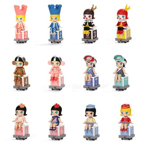 Molly Happy Train Party Mini-Figure Blind Box
