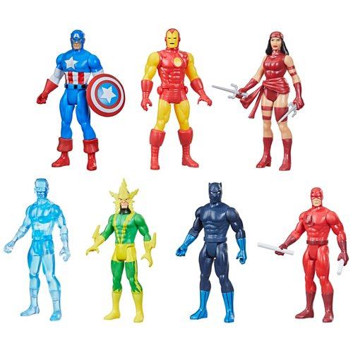 Marvel Legends Retro Collection Action Figures Wave 2 Case