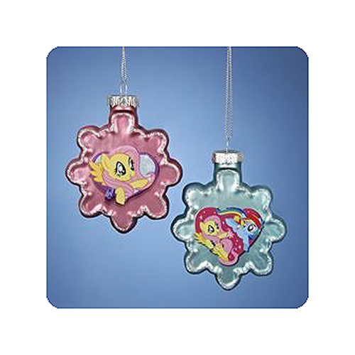 MLP 2 1/2-Inch Snowflake Holiday Ornament Display Box